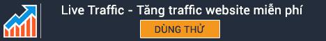 Live Traffic - Tăng traffic website miễn phí